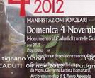 04 nov 2012 - Putignano onora I CADUTI