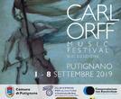 CARL ORFF Music Festival concerto 8 settembre 2019