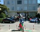 Omaggio ai Sanitari Ospedale S.M.Angeli dalla POLIZIA e tutte le Forze dell'ordine