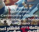 Esperienze a confronto: gemellaggio Castelnovo di Sotto-Putignano